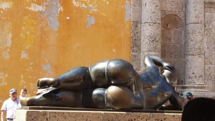 La Gorda (Botero) - Cartagena