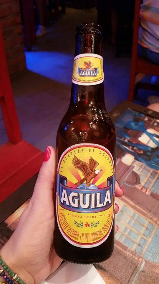 Cerveja Aguila - a melhor!