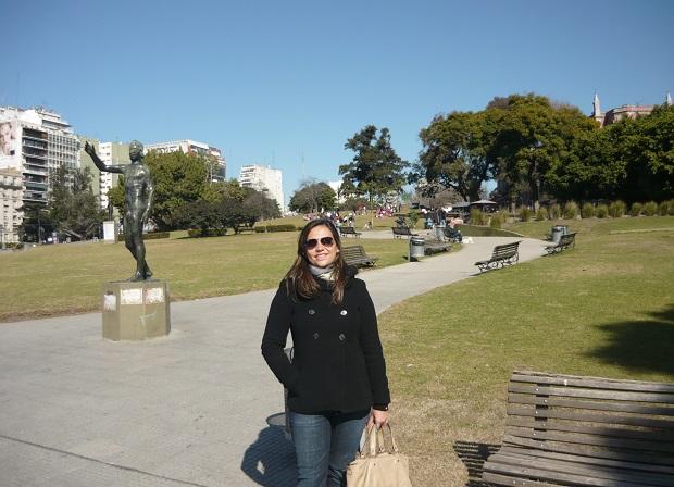 Parque na Recoleta - Buenos Aires